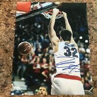 Zach Collins Signed 8x10 Photo Gonzaga Zags Portland Trail Blazers