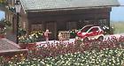 Busch 1241 6 Rose Plants Preassembled HO Gauge