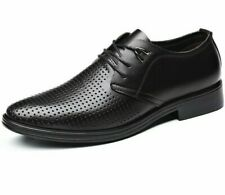 Men's Formal Leather Shoes Oxfords Lace-Up Rubber Outsole Business Footwear Shoe