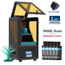 ANYCUBIC LCD Photon 3D Printer SLA 405nm UV Light Cure TFT Screen + 500ml Resin