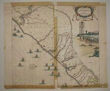 Brasil old map praefecturae paranambucae