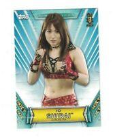 Io Shirai 2019 Topps WWE Women's Division 1ST NXT Rookie Card #37