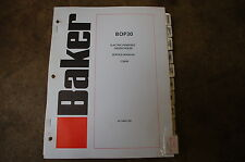 Baker OTIS BOP30 ORDER PICKER Lift Truck Forklift Service Repair Manual book OEM