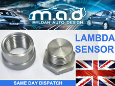 STAINLESS STEEL OXYGEN LAMBDA SENSOR NUT & PLUG BOSS **NEW** M18 X 1.5