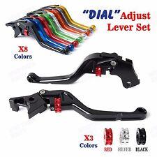 Roller Adjustable Brake Clutch Levers for Kawasaki ZX-6 KLE500 91-99 ER-5 04-05