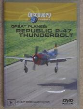 REPUBLIC THUNDERBOLT P-47  -  DVD