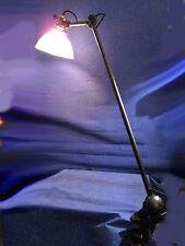 LAMPE GRAS 201 LAMPE AJUSTABLE GRAS Brevetée S.G.D.G. RARE REFLECTEUR HOLOPHANE