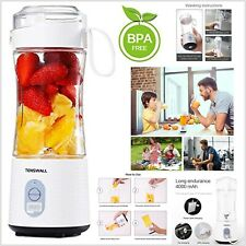 Blender Juicer Mix Blend Shakes Portable Rechargeable Cordless Office Sports