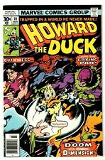 HOWARD THE DUCK #10 (NM-) 1st Kong Lamerate! Colan/Gerber 1977 Marvel Spider-Man