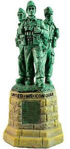 Commando Memorial Statue Resin Model Ornament WW2