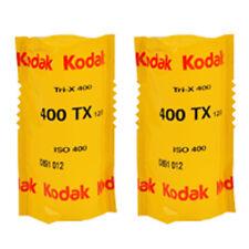 2x Kodak Tri-X 400 120 Black & White Negative Roll Film - 400TX