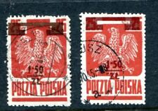 Cats Used Polish Stamps