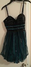 Brand New Evenings By Allure Short Prom Dress Homecoming Party Bridesmaid Dress