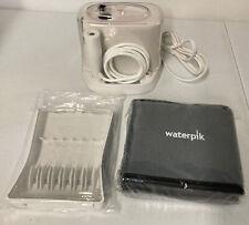 Waterpik Water Flosser Nano Traveler Model w/Case, Tip Storage WP-310C NEW open
