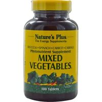 Nature's Plus, Mixed Vegetables, 180 Tablets