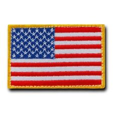 "United States of America Us Flag Usa American Canvas Patch Decal 3"" X 2"""