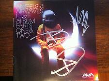 Angels & Airwaves Love Album Parts 1 & 2 cd signed  booklet Tom DeLonge Blink182