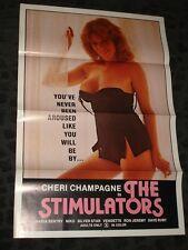 The Stimulators folded movie promo poster Adult Film Ron Jeremy
