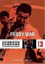 The Yakuza Papers: Vol.3 - Proxy War (DVD) Bunta Sugawara, Akira Kobayashi NEW