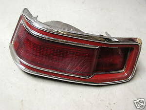 PLYMOUTH VALIANT DRIVER SIDE TAIL LIGHT & BEZEL 1971