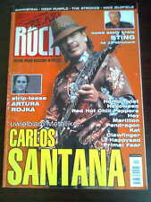 Teraz Rock 11/2005 front  Santana in.Sting,Rammstein,Mike Oldfield,The Strokes