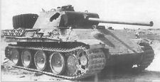 WW2 Photo Destroyed Panther Tank  WWII Russia Germany World War Two Wehrmacht