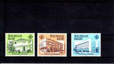 SEYCHELLES-SG671-673-CENTENARY OF BANKING-MNH