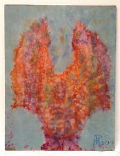 Henri Hans Pfeiffer aquarelle sur papier signée art abstrait abstraction Bahaus
