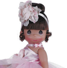 "Precious Moments Ballet Ballerina Bliss Pink Dress 12"" Doll New"