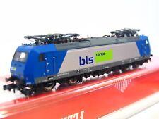 Fleischmann N 738506 E-Lok Re 185 535-2 BLS Cargo DSS OVP (RB121)