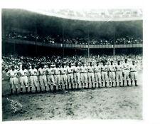 1934 PITTSBURGH CRAWFORDS BASEBALL 8X10 TEAM PHOTO
