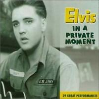 ELVIS PRESLEY <>IN A PRIVATE MOMENT<>2000 FTD CD <>OOP*VERY GOOD