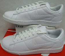 New listing New Womens 10 Nike Tennis Classic White Leather Shoes MSRP $80 312498-129