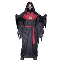 Emperor of Evil Sinister Skeleton Boy's Child Costume Halloween Robe Large 12-14