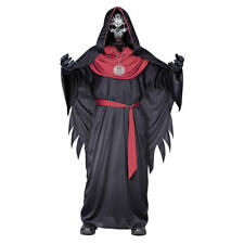 Emperor of Evil Sinister Skeleton Boy's Child Costume Halloween Robe Large 12-14