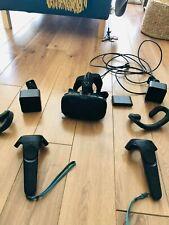 Casque réalité virtuelle HTC vive VR complet en bon etat avec tous les cables