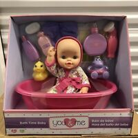 Bath Time Baby Doll - You And Me, New.