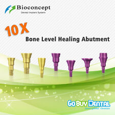 10 piece Straumann Compatible Bone Level healing abutments