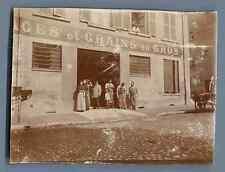 Lyon, Maison Martin Frères  Vintage citrate print.   Tirage citrate  8x11