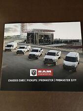 2017 Dodge Ram Commercial Trucks 16-page Small Original Sales Brochure
