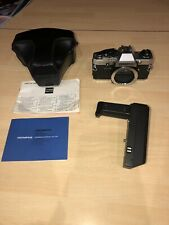 OLYMPUS OM10 35mm SLR Camera Body w/Winder, Case & Strap - Excellent Condition