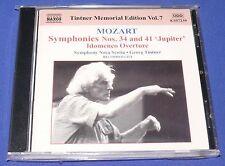 TINTNER Memorial Ed - Mozart: Symphonies Nos. 34 & 41; Idomeneo Overture CD NEW