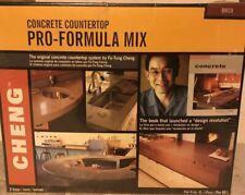 Cheng Concrete Countertop Pro Formula Mix 3 Cubic Foot Bag Color Brick