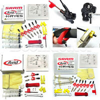 Bicycle Hydraulic Disc Brake Bleed Kit Tools for AVID Formula HYGIA USAGI HAYES