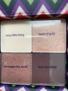 genuine tarte cosmetics boxed 4 complimentary brown colours