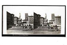 Bologne Bologna Italie Italia Plaque stéréo par Ferrier & Soulier ? ca 1865
