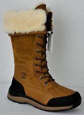 UGG Women's Adirondack Tall III Waterproof Hiking Boots 1095142 Chestnut Sz 7