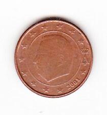 Pièce de monnaie 1 cent centimes euroBelgique 2001