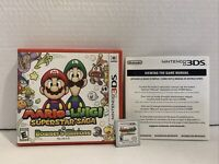 Mario & Luigi: Superstar Saga + Bowser's Minions 3DS Tested Working Great