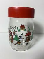 Retro Christmas Canisters